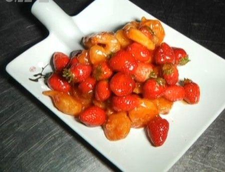 快手菜--草莓虾仁