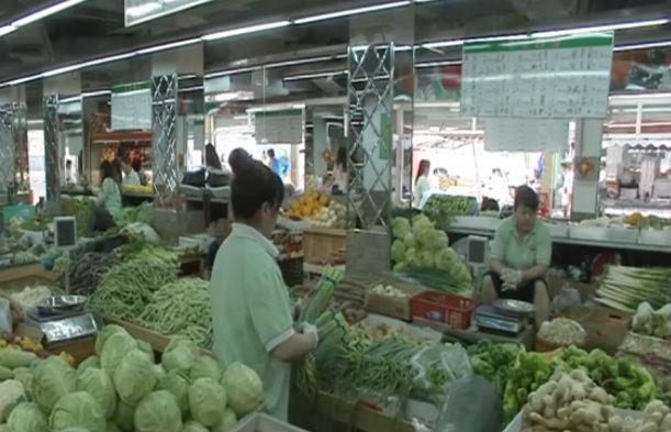 受高温天气影响叶菜价格上涨