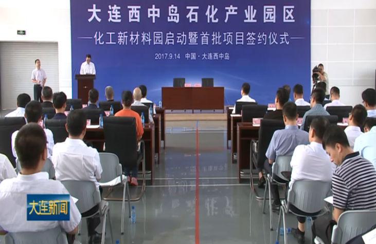 长兴岛经济区化工新材料产业园开园