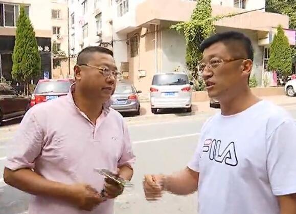 曲英男:门前停车引发邻里纠纷