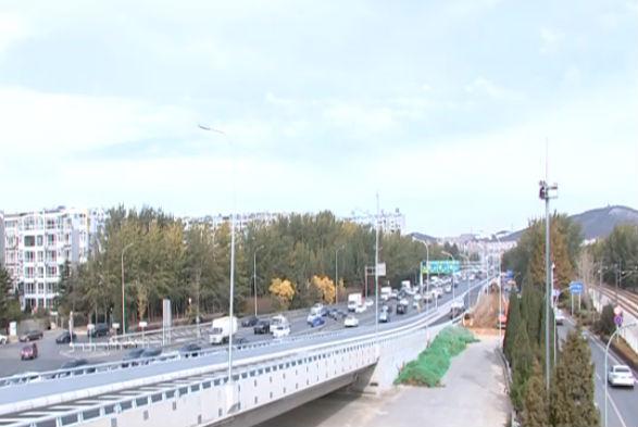 梭鱼湾周边道路桥梁工程主线通车