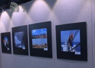 全市职工摄影美术书法作品展举行