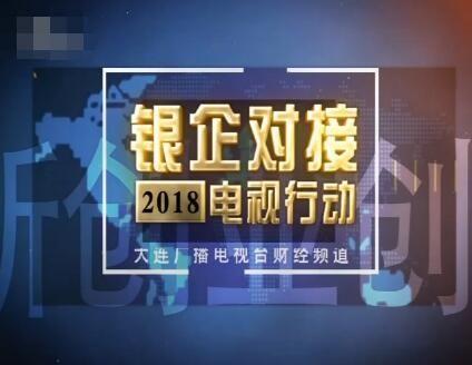 """2018""""银企对接电视行动""""启动"""