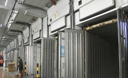 大连口岸最大单体冷库投入运营