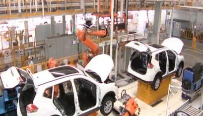 东风日产大连工厂第50万辆整车下线