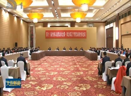 谭成旭在辽宁代表团全体会议上发言