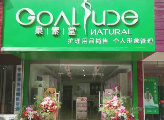 化妆品店加盟品牌果素堂果智慧型美妆形成一种全新的美妆运营形式