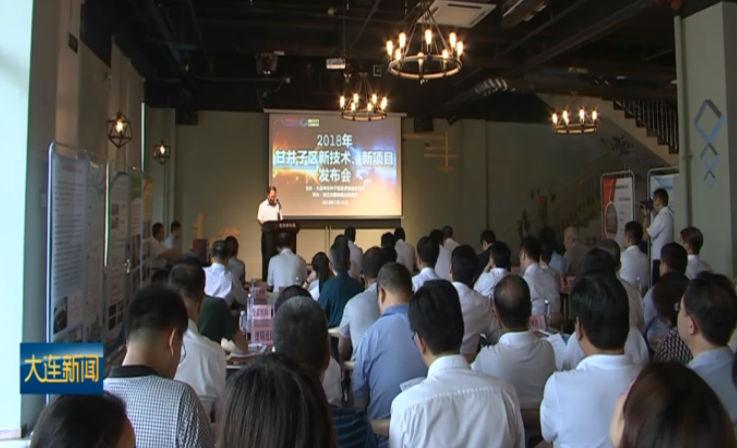 甘井子区举行新技术新项目发布会