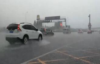 我市南部地区迎来今年最大一场雨