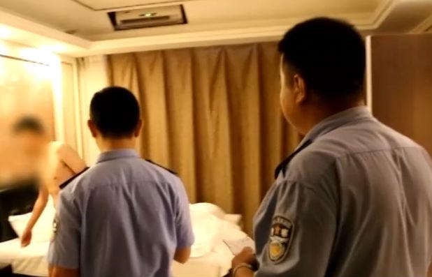 日租房扰民 警方清整取缔黑旅店