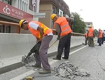 我市开工建设道路桥梁声屏障