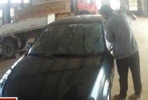 凭一个后视镜碎片 警方锁定嫌疑车辆
