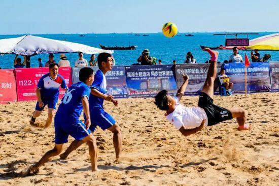 大连要打造中国北方沙滩足球基地