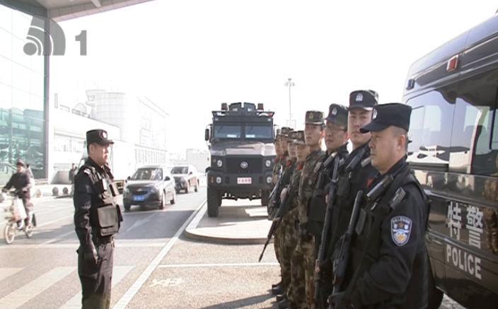 市公安局启动春运安保行动