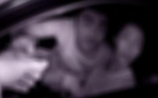 无证女子竟在高速路上练车