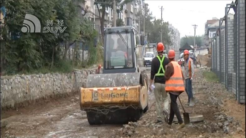 市政道路維修進入收尾階段