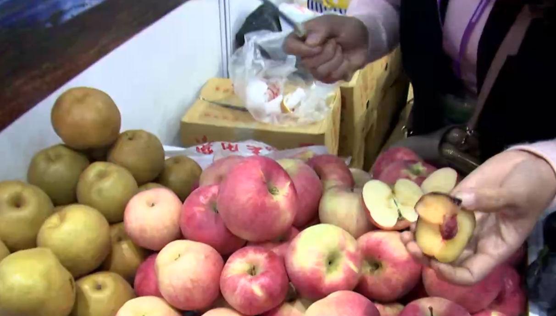 全市低收入村農產品組團亮相農博會