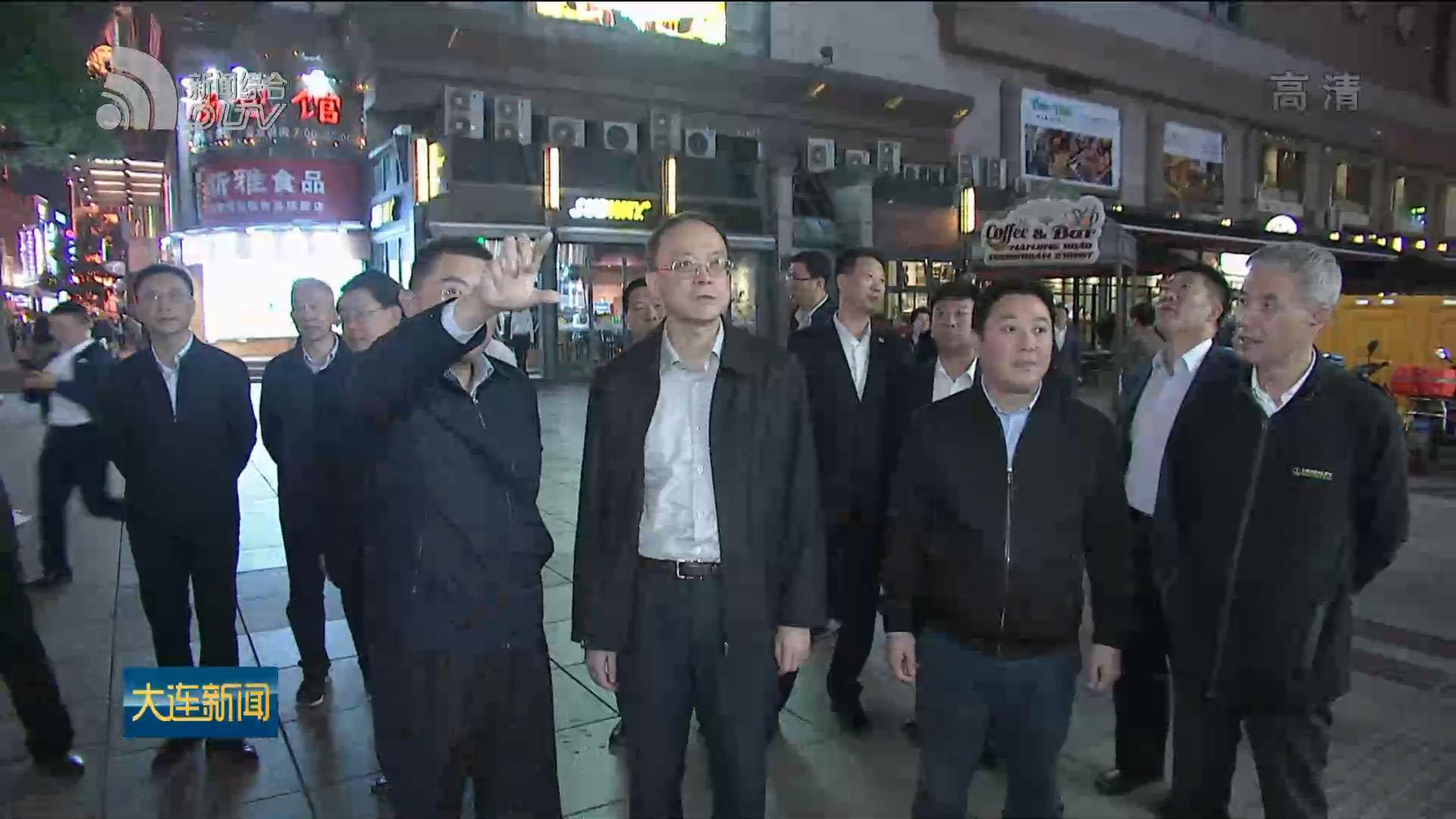 譚成旭率我市代表團在上海考察