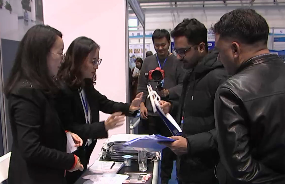 大连市优秀外国留学生就业创业推介会举行