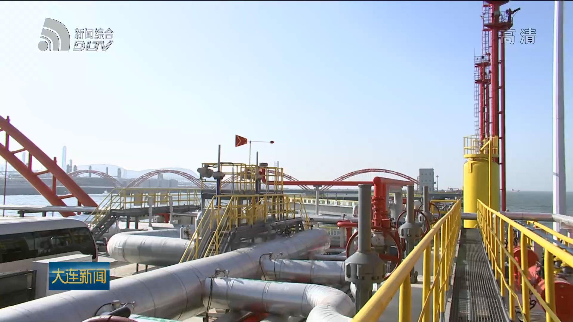 长兴岛港为恒力石化打造专属泊位