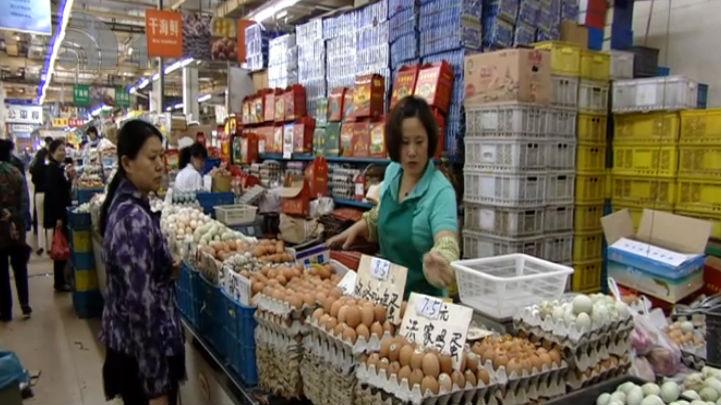 蔬菜猪肉价格上涨 海鲜鸡蛋价格走低