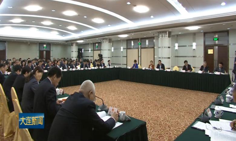 """肖盛峰在辽宁代表团审议""""两高""""工作报告时发言"""