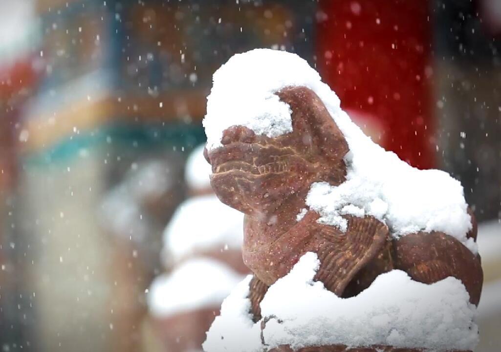 冰天雪地人情味就是沈阳的金山银山