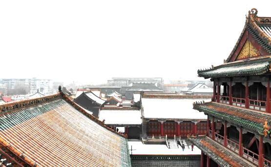 一场雪后,沈阳美成了盛京