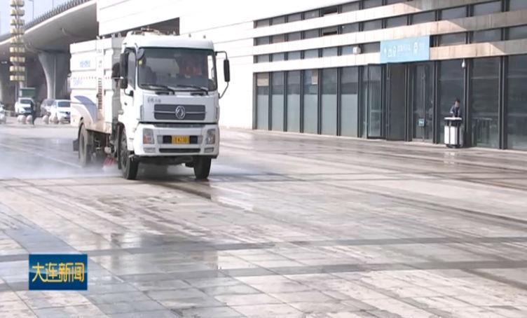 中心城区展开春季市容环境卫生综合整治
