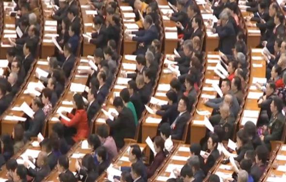 大连代表参加全国政协十三届二次会议开幕会
