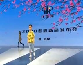 时装走秀是大连童模的主要舞台