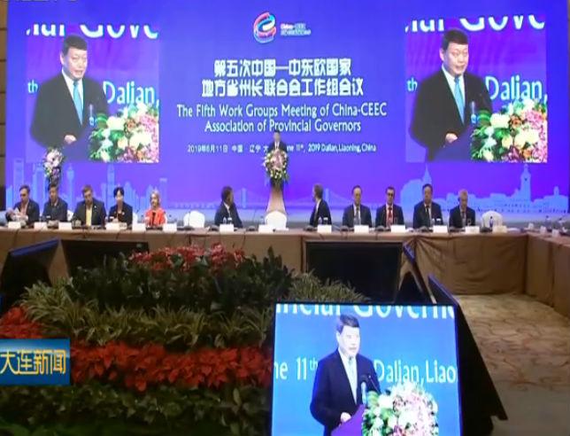中国—中东欧国家地方省州长联合会在连举行