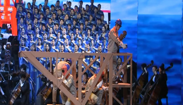 大连艺术学院音乐剧《追梦?青春》在京演出