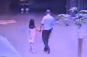 小女孩离家出走 民警暴雨中找回