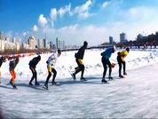 東北人滑冰-溫波