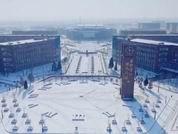雪后校園美景盡收眼底