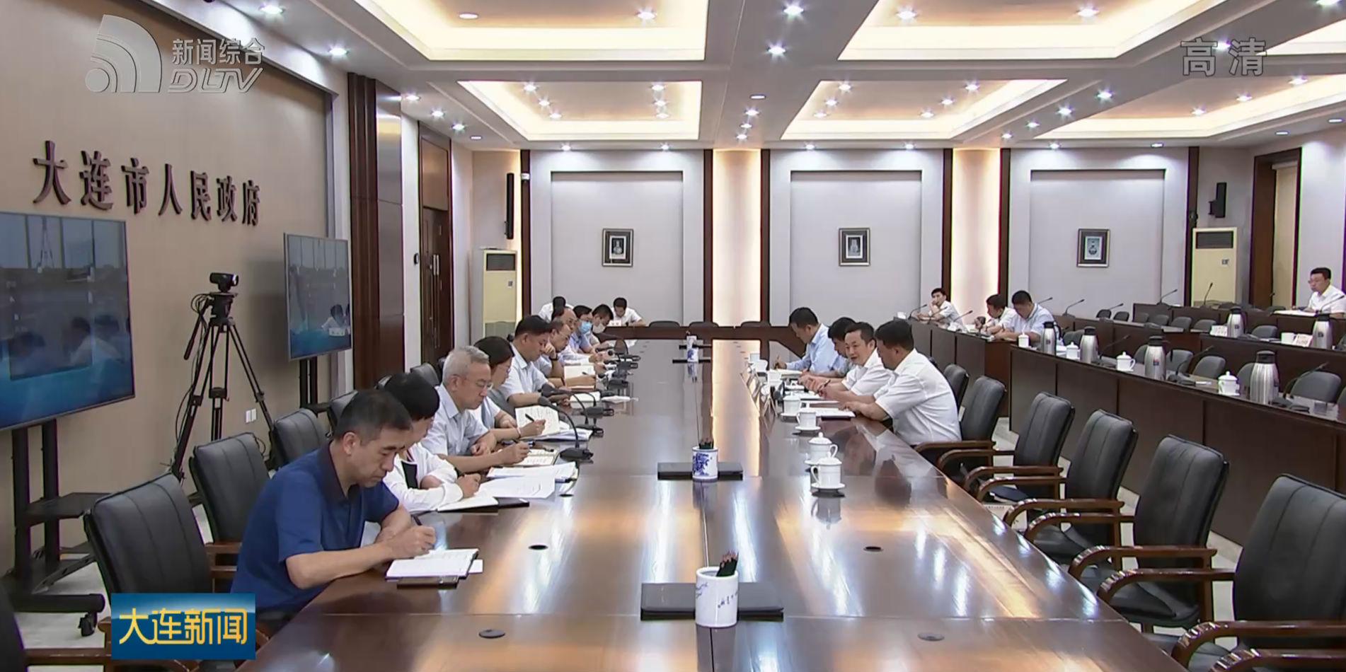 陳紹旺主持全市經濟運行調度會