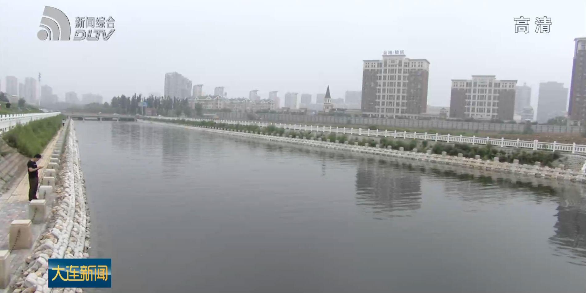 甘井子區泉水河公園開工建設