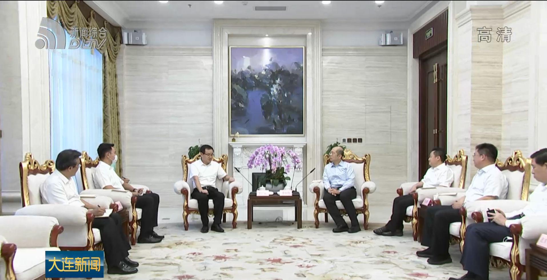 譚作鈞陳紹旺會見英特爾全球副總裁車廣禮