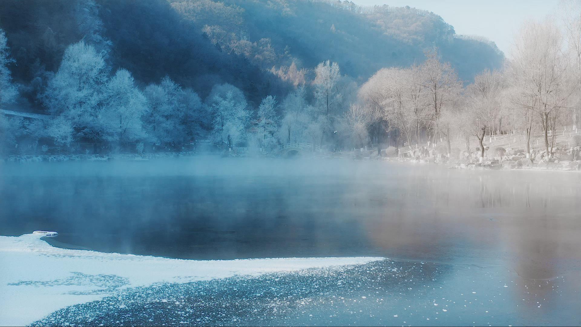 本溪水洞霧凇美景