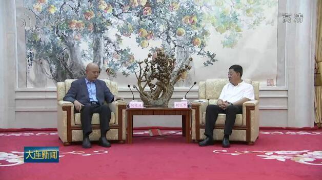 胡玉亭陈绍旺与中国钢铁工业协会党委书记何文波举行工作交流